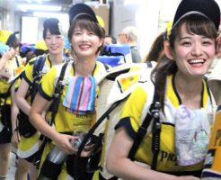 かわいいビール売り子の女の子たち