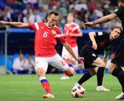 クロアチア対ロシア大会