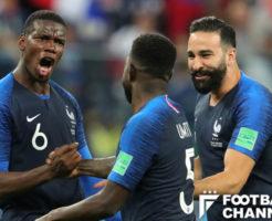 フランス対ベルギーのフランスサイド