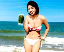 ヤマカン(山本漢方)大麦若葉青汁CM女優