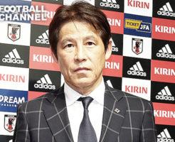 日本代表西野朗監督帰国会見