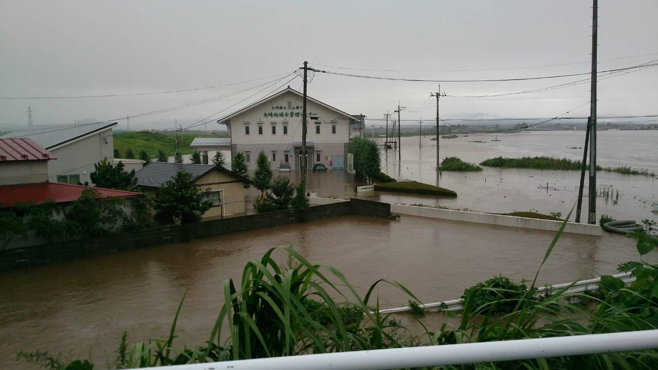 2015年宮城県鳴瀬川付近
