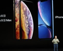新作iPhoneのiPhoneXS、iPhoneXSMax,iPhoneXR